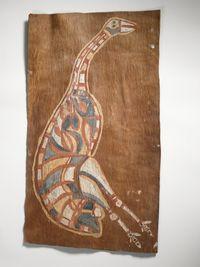 Benuk, dinde sauvage (femelle) _ Croker _  Océanie © musée du quai Branly, photo Thierry Ollivier, Michel Urtado