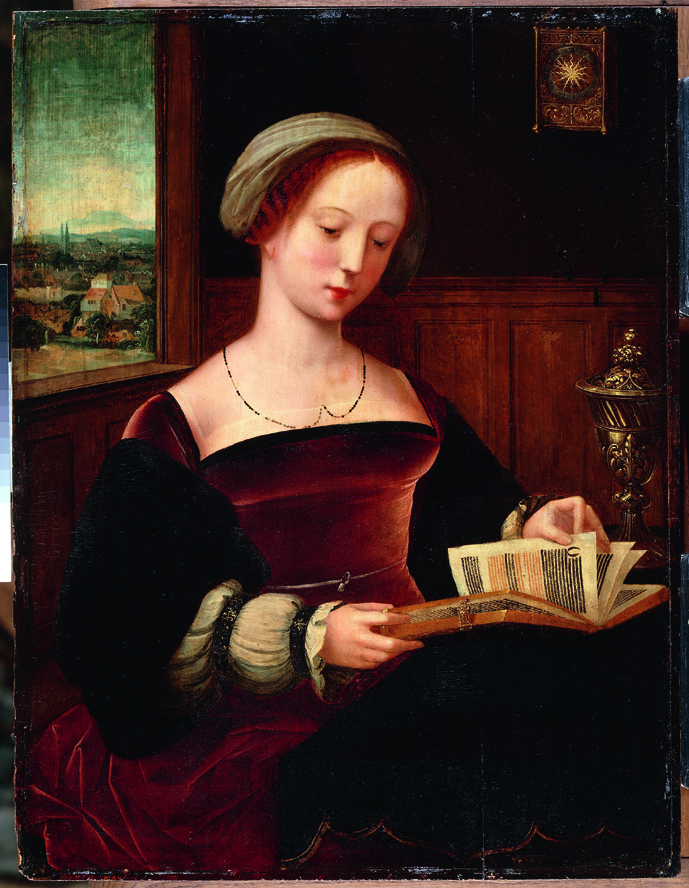 4-Sainte Madeleine Lisant_naturalisme